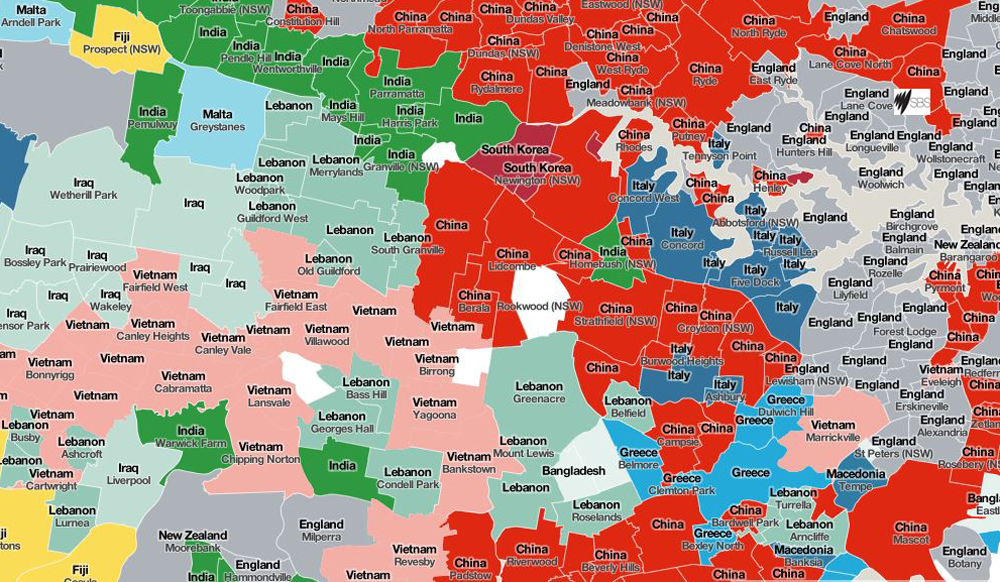 Top Languages Spoken in NSW