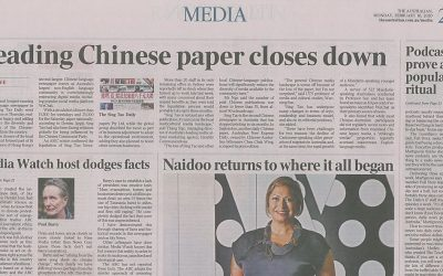 Leading Chinese paper closes down